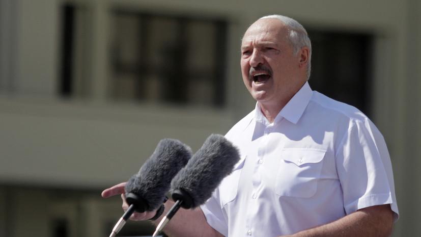 Лукашенко исключил возможность гражданской войны в Белоруссии