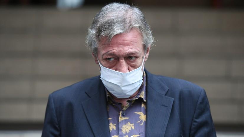 В суде рассказали об экспертизе пассажирской подушки безопасности джипа Ефремова