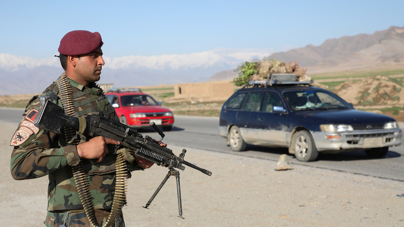 Вертолёт ВВС Афганистана потерпел крушение