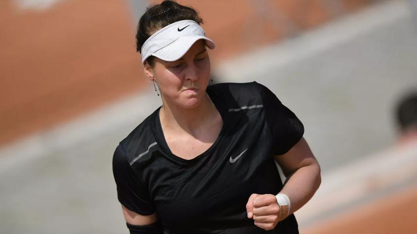 Россиянка Самсонова проиграла Пиронковой в первом круге US Open
