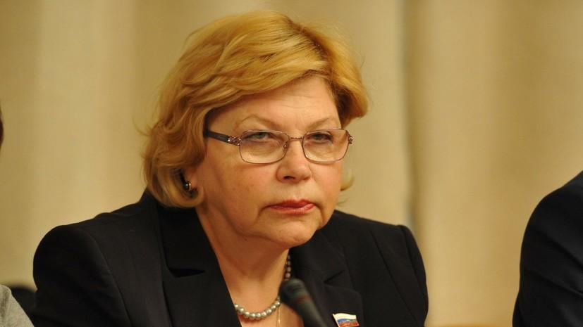Елена Драпеко выразила соболезнования в связи со смертью Бориса Клюева