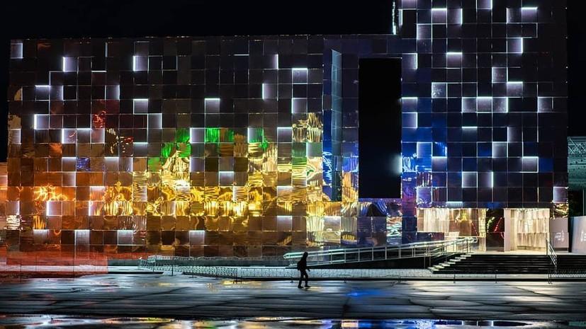 В Нижнем Новгороде рассказали о ходе работ по строительству выставочного павильона