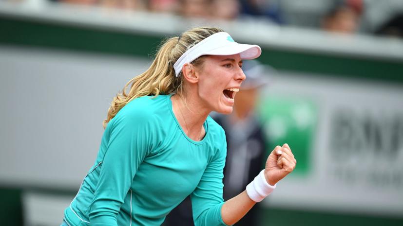 Клейстерс назвала Александрову великолепной теннисисткой
