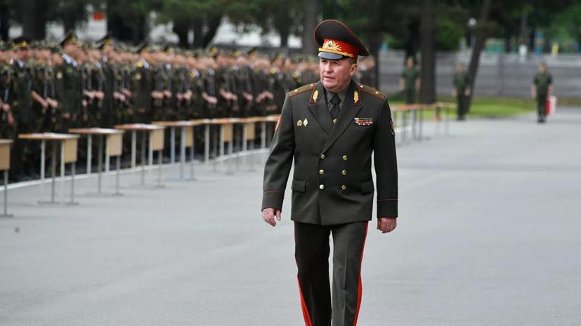 Министр обороны Белоруссии 4 сентября посетит Москву