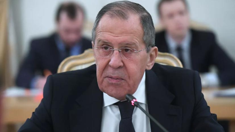 Лавров назвал деструктивными заявления ЕС и НАТО по Белоруссии