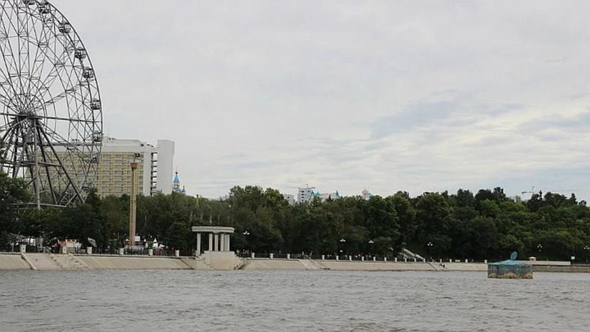 Спасатели рассказали о подъёме уровня воды в Амуре у Хабаровска