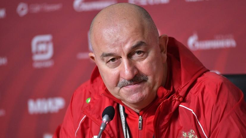 «Согласен, что команда возрастная»: Черчесов объяснил, почему в сборной мало новых имён