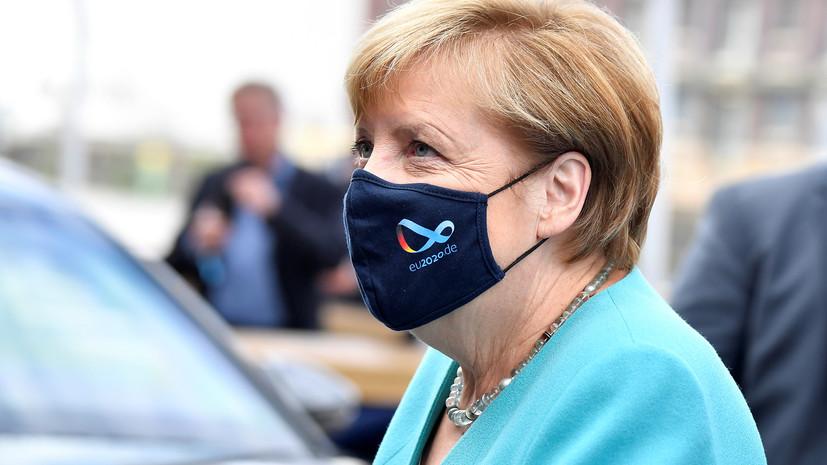 Меркель отреагировала на заявление об отравлении Навального «Новичком»