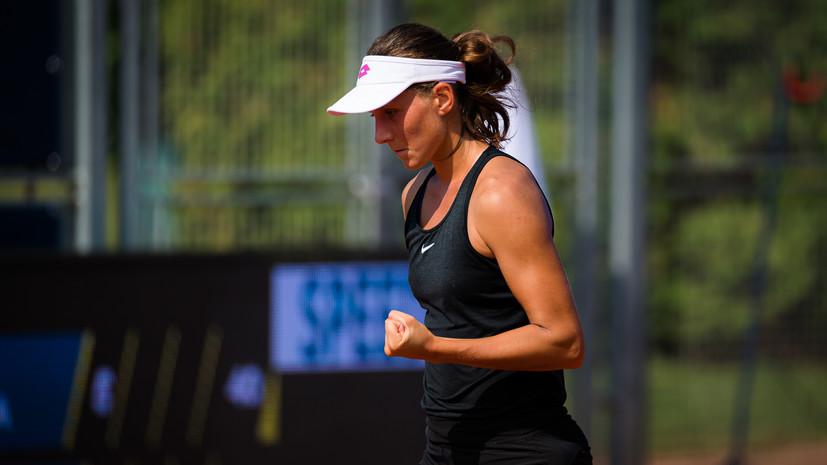 Грачёва победила Младенович во втором круге US Open, отыграв четыре матчбола