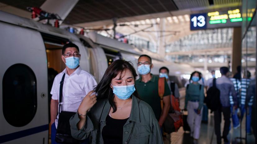 В Китае за сутки выявили 23 новых носителя коронавируса