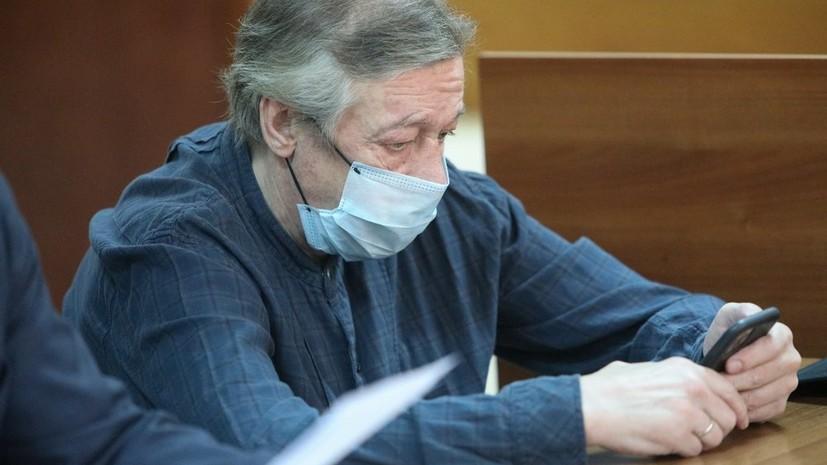 Адвокат заявил, что Ефремов намерен признать вину