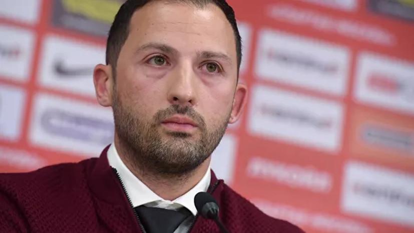 Тедеско признан лучшим тренером РПЛ по итогам августа