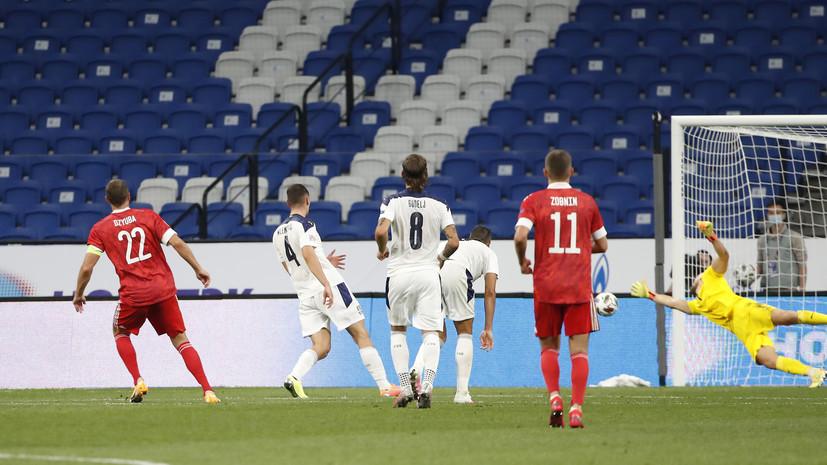 Слуцкий о победе сборной России: порадовало движение и уровень взаимодействия игроков