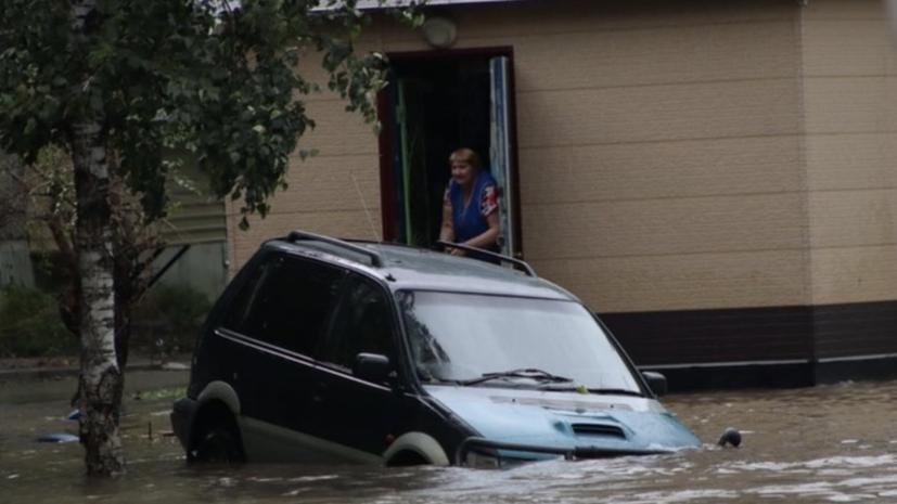 В Приморье рассказали о ходе ликвидации последствий тайфуна «Майсак»