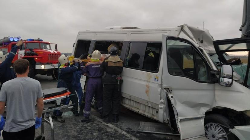 В МВД уточнили число пострадавших в ДТП с автобусом в Анапе