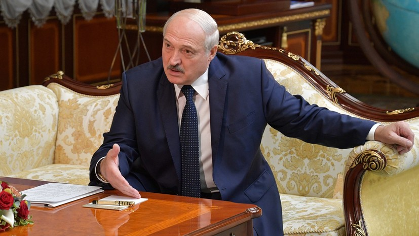 """Лукашенко: если Белоруссия """"рухнет"""", следующей будет Россия"""