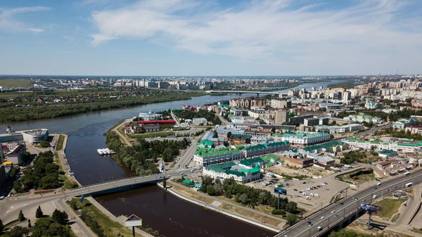 В Омске открыли стелу в честь участников Великой Отечественной войны