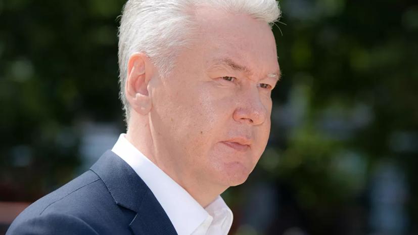Собянин сообщил Путину, что сделал прививку от коронавируса
