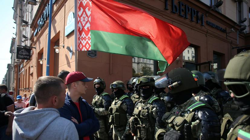 Белорусский силовик рассказал о переломе носа на протестах в августе