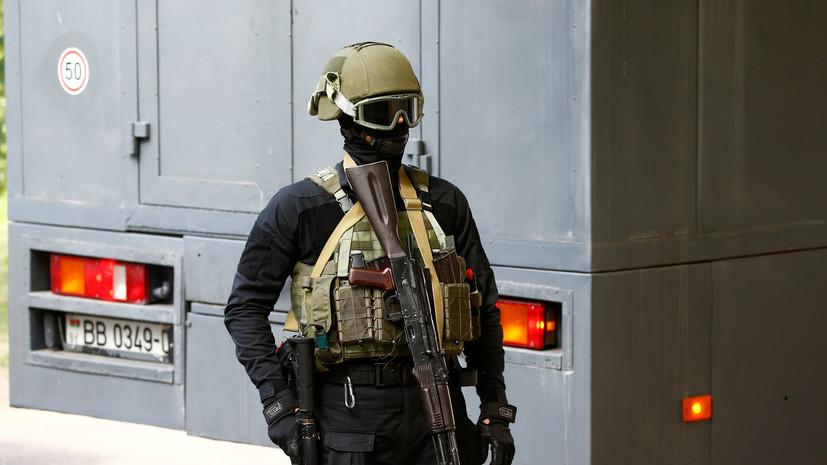 МВД Белоруссии сообщило о задержаниях в университете в Минске