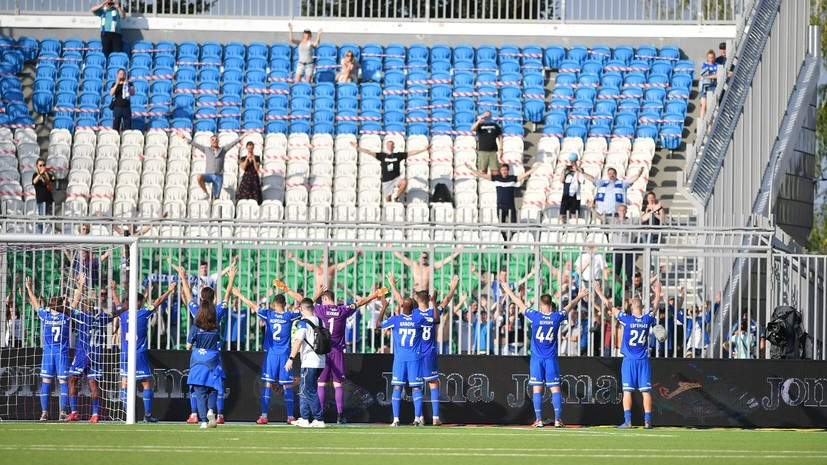 РФС снял с «Динамо» запрет на регистрацию новых игроков
