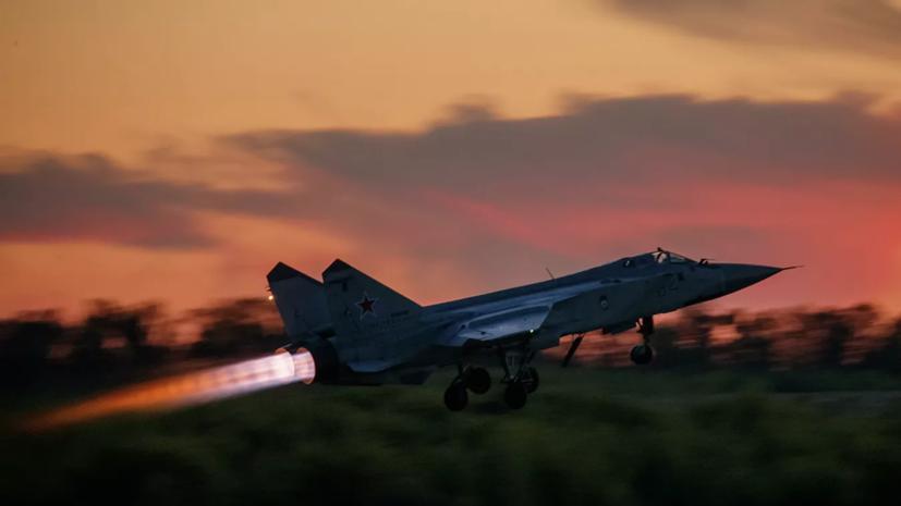 МиГ-31 перехватил над Баренцевым морем самолёт ВВС Норвегии