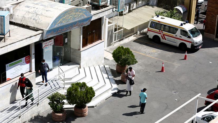В Иране 217 человек пострадали при взрыве баллона с хлором