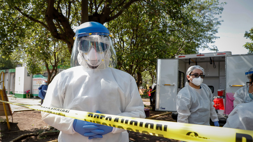 В Мексике за сутки выявили более 6000 случаев заболевания COVID-19