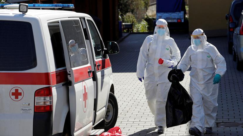 В Чехии выявлено 798 новых случаев коронавируса