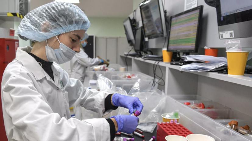 Более 38,1 млн тестов на коронавирус проведено в России