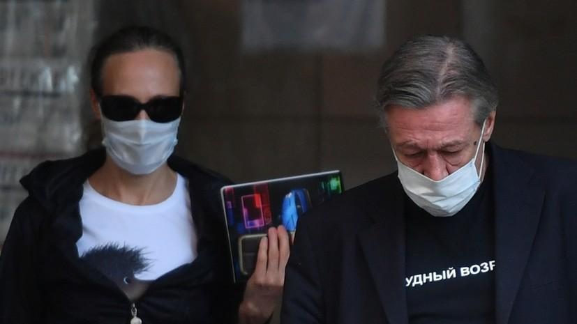 Адвокат: Ефремов готовится к приговору спокойно