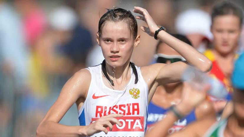 Легкоатлетка Лашманова установила мировой рекорд на ЧР, который не будет ратифицирован
