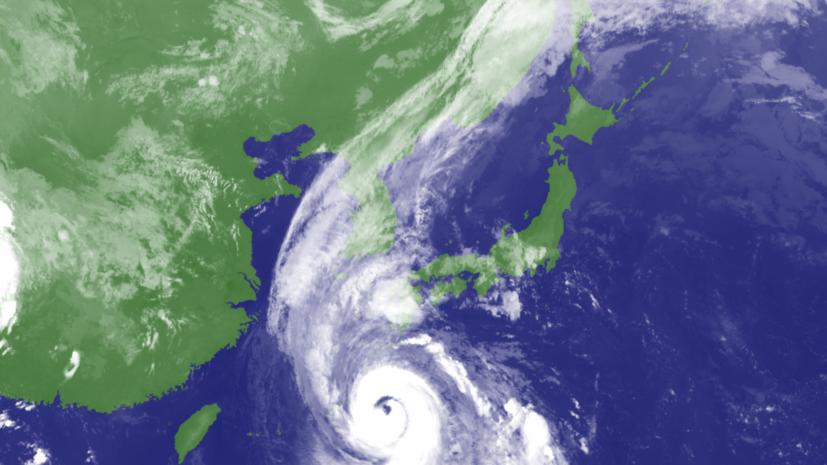 Синоптики предупредили об ускорении движения нового тайфуна к Приморью
