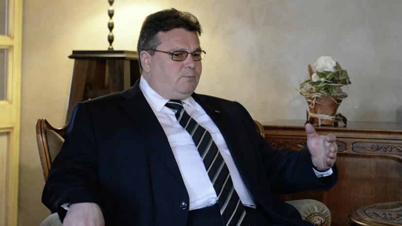 МИД Литвы призвал ЕС оказать оппозиции Белоруссии «конкретную помощь»