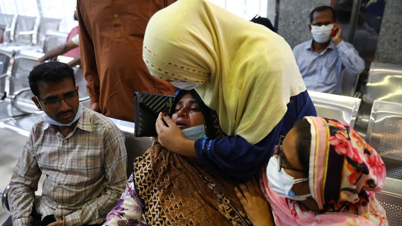 Число погибших при взрыве газа около мечети в Бангладеш возросло до 24