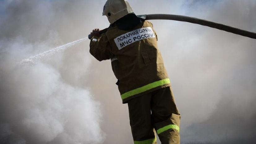 Пожар в старинном доме в центре Ростова-на-Дону потушен