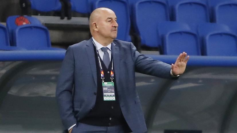 Черчесов подвёл итоги после двух матчей сборной России в Лиге наций