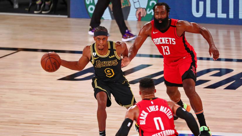 «Лейкерс» обыграл «Хьюстон» и сравнял счёт в серии плей-офф НБА