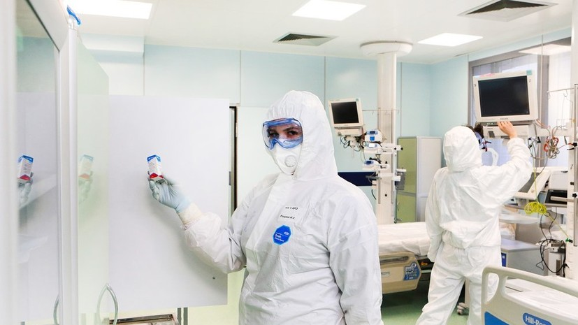 В России зарегистрировано 5185 новых случаев коронавируса за сутки