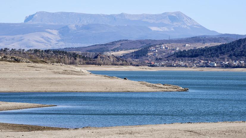 Последствия засухи: в Симферополе воду будут подавать по часам