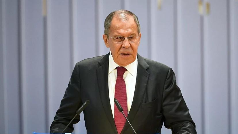 Лавров опроверг данные СМИ об использовании САР как плацдарма в Ливию