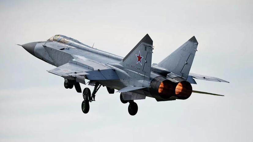 МиГ-31 перехватил патрульный самолёт Норвегии над Баренцевым морем