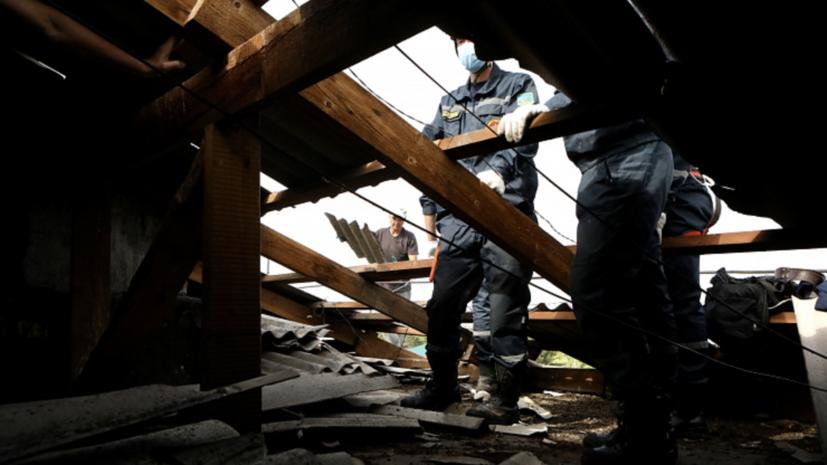 В Приморье из-за тайфунов около 2 тысяч человек остаются без света