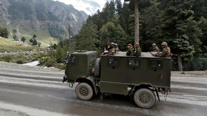 Китай обвинил Индию в провокационных действиях на границе
