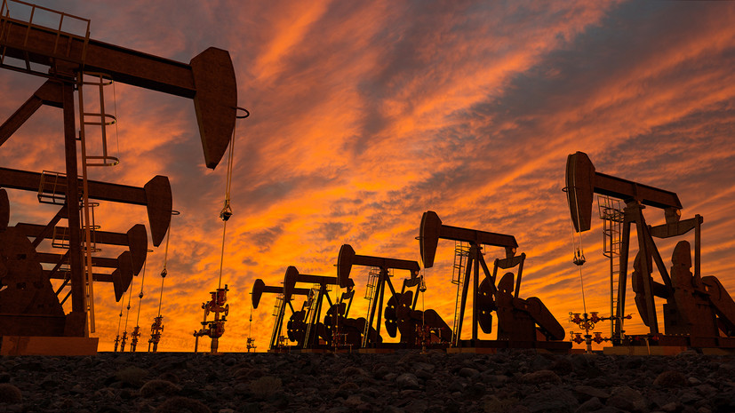 Мировые цены на нефть снижаются в ходе торгов 8 сентября