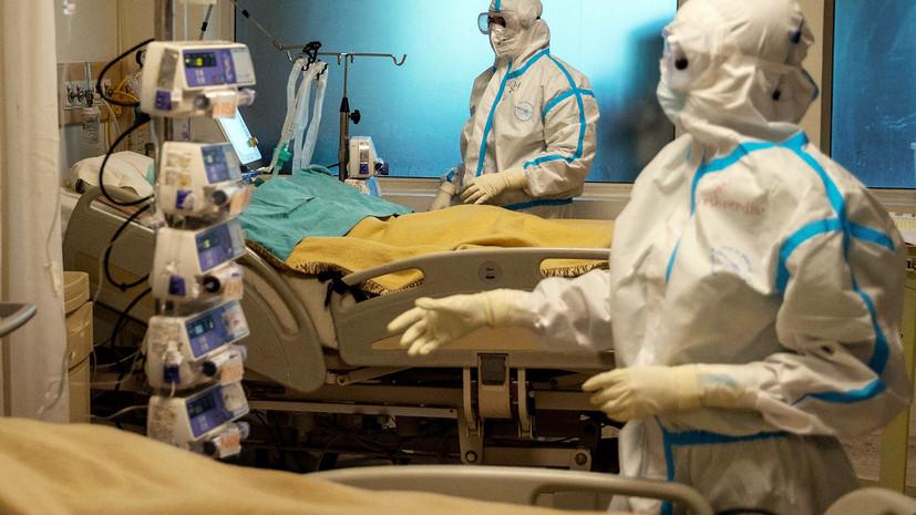 Более 1100 человек умерли из-за коронавируса в Индии за сутки