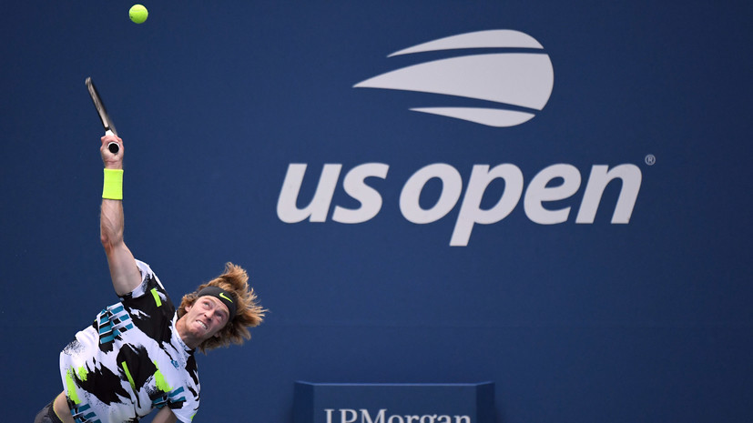 Рублёв обыграл Берреттини и вышел в четвертьфинал US Open