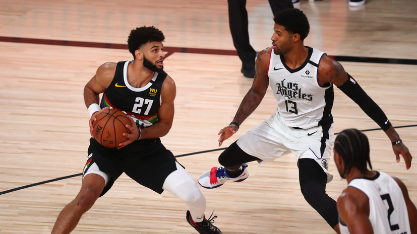 Дабл-дабл Леонарда и 32 очка Джорджа помогли «Клипперс» обыграть «Денвер» в матче плей-офф НБА