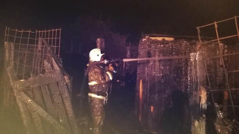В цехе Каменск-Уральского металлургического завода произошёл пожар