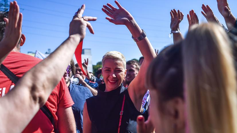 «Выдвинулись в сторону Украины»: Госпогранкомитет Белоруссии сообщил о задержании Марии Колесниковой